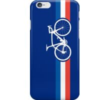 Bike Stripes French National Road Race iPhone Case/Skin