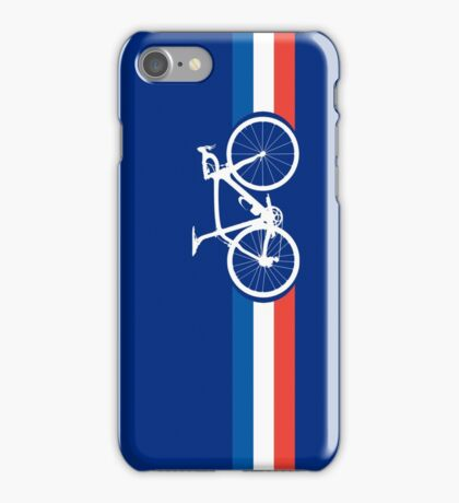 Bike Stripes French National Road Race iPhone Case/Skin