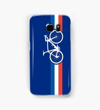 Bike Stripes French National Road Race Samsung Galaxy Case/Skin