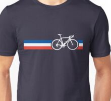 Bike Stripes French National Road Race Unisex T-Shirt