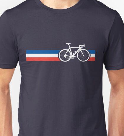 Bike Stripes French National Road Race Unisex T-Shirt