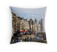 London Calling 1.2 Throw Pillow