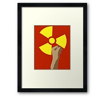 Power of the Atom Framed Print