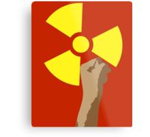 Power of the Atom Metal Print