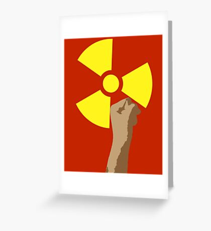 Power of the Atom Greeting Card