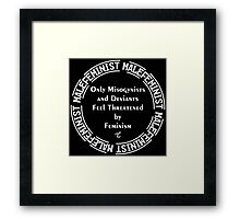 Male Feminist Framed Print