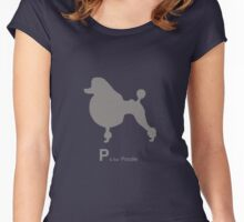 Poodle | Dogs Women's Fitted Scoop T-Shirt