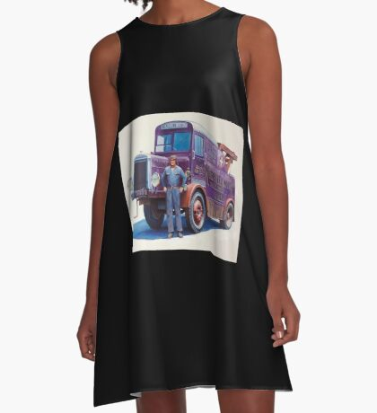 Leyland breakdown from the 1930s. A-Line Dress