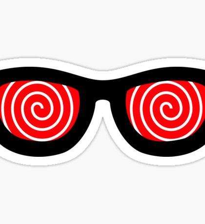 Crazy Eyes Sticker