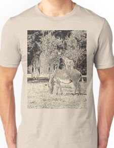 Stripes and tiles, it is a wildlife Unisex T-Shirt