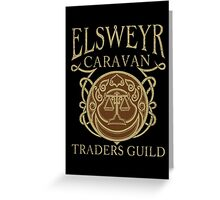 Elsweyr Traders Guild Greeting Card