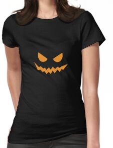Halloween Pumpkin Cool Halloween Party Womens Fitted T-Shirt