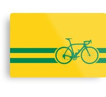 Bike Stripes Australian National Road Race Metal Print