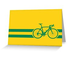 Bike Stripes Australian National Road Race Greeting Card
