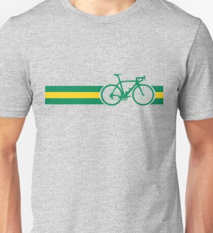 Bike Stripes Australian National Road Race Unisex T-Shirt