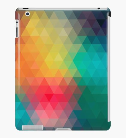 Colourful Pattern iPad Case/Skin