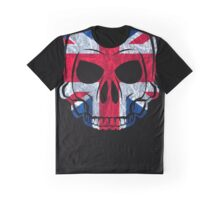 England Skull / Totenkopf Graphic T-Shirt