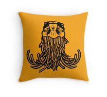 Swami hippy Throw Pillow