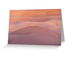Earth Bodyscape.  Natural Abstract  Greeting Card
