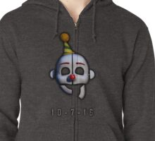 Five Nights at Freddy's - Sister Location Release Date Zipped Hoodie