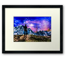 High on Drugs Framed Print