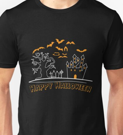Happy Halloween Party Outfit Costume Unisex T-Shirt