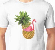 Flamingo party Unisex T-Shirt