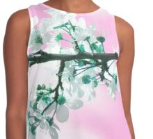 Spring in Pink Contrast Tank