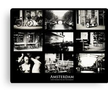Amsterdam by Jenny Rainbow Canvas Print
