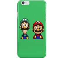 Mario & Luigi iPhone Case/Skin