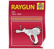 Ray gun Haynes Manual Poster