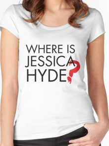 Utopia - Where is Jessica Hyde ? Women's Fitted Scoop T-Shirt