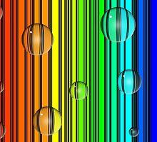 Rainbow spheres by JessieCat