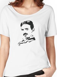 Nikola Tesla  Women's Relaxed Fit T-Shirt