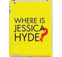 Utopia - Where is Jessica Hyde ? iPad Case/Skin