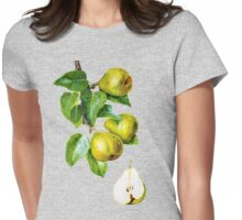 Pears on the branch Womens Fitted T-Shirt