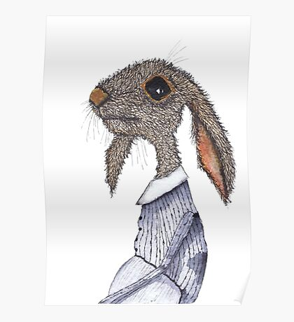 DRESSED HARE Poster