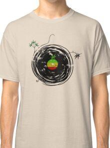 Reggae Music - Vinyl Records Cannabis Leaf - DJ inspired design Classic T-Shirt