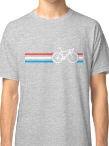Bike Stripes Luxembourg v2 Classic T-Shirt