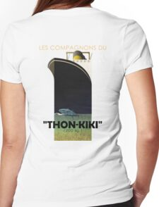 """""""Thon-Kiki"""" clothes Womens Fitted T-Shirt"""