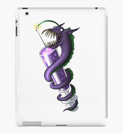drugs are evil iPad Case/Skin