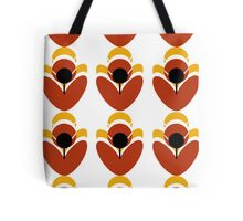 Retro Petal Tote Bag
