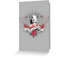 Marilyn Monroe 2 Greeting Card
