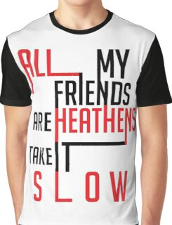 Heathens Typography Graphic T-Shirt