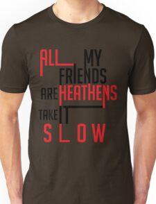 Heathens Typography Unisex T-Shirt