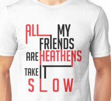 Heathens Typography Unisex T-Shirt