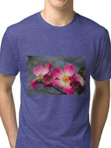 roses in the garden Tri-blend T-Shirt