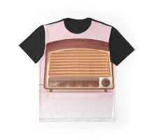Old vintage retro Radio planyer Graphic T-Shirt