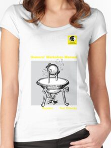 Owners' Manual - Aeolipile - T-shirt  Women's Fitted Scoop T-Shirt