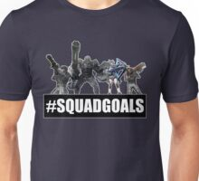 Earth Defense Force Squad Goals #SQUADGOALS Ranger Fencer Wing Diver Air Raider Unisex T-Shirt
